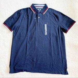 NWT Tommy Hilfiger Stripe Collar Classic Polo
